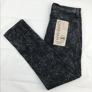 NWT Women's Carmar LF Black Stretch Denim Jeans